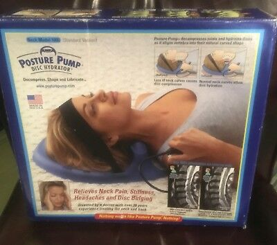 Posture Pump Disc Hydrator Model 1000 (Standard Version) - Relieves Neck Pain