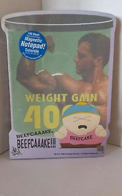 1998 South Park Cartman Weight Gain 4000 Magnetic Notepad Comedy Central