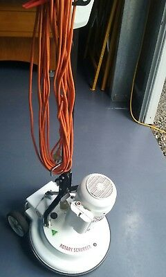 """Polivac rotary 17"""" scrubber carpet cleaning"""