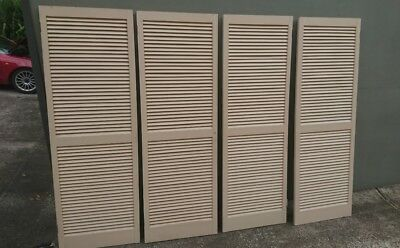4 large window shutters