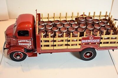Rare 1938 Budweiser Delivery Truck  With All Papers And Original Box