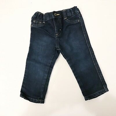 Baby Wrangler Adjustable Jeans 12mo