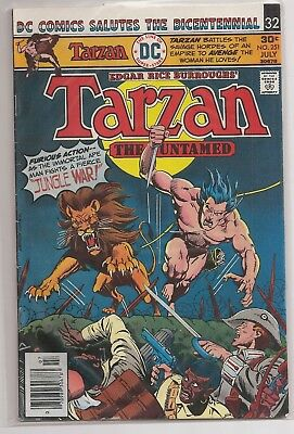 Tarzan #251 Dc Jungle Comics Book July 1976 Vg Condition Edgar Rice Burroughs