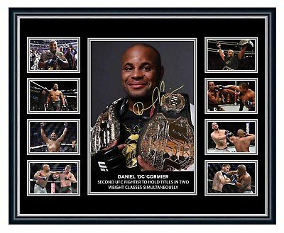 Daniel Cormier Ufc 2 Division Champion Signed Limited Edition Framed Memorabilia