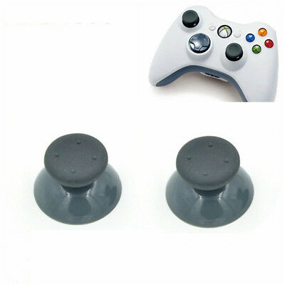 4pcs Replacement Gray Analog Thumbsticks for Xbox 360 Controller Grip Stick Part