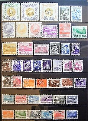 Romania - 40+ Used Stamps - Great Small Collection