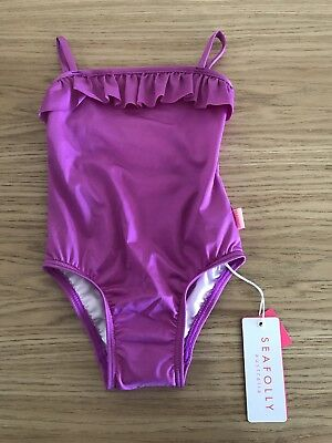 Bnwt Baby Girls Seafolly Swimmers Size 0
