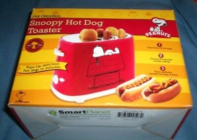 Snoopy Hot Dog Toaster Peanuts Novelty Kitchen Original Classic Collectible Gift