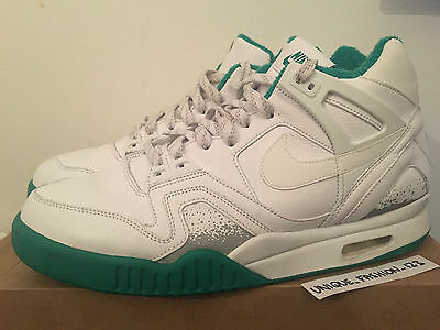 Nike Air Tech Challenge 2 Wimbledon Us 11 Uk 10 45 Open Sp Agassi  White Green
