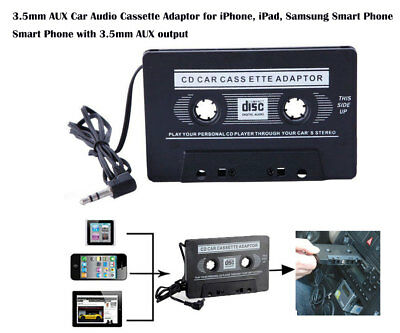 3.5mm Connector Car Audio Cassette Adaptor For iphone ipod Samsung S8 S9