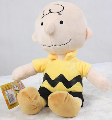Peanuts Charlie Brown Kohls Cares Plush Doll Collection Stuffed Toy 9 inch Gift