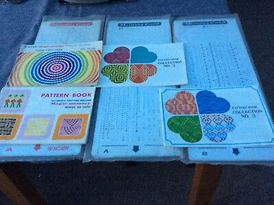 Singer Magic Memory Punch Cards And Pattern Books