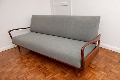 Greaves and thomas 20th century restored and refurbished sofa bed