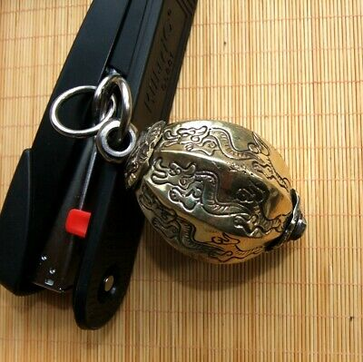 Cold Weapon KUNG-FU Copper Meteor Hammer Dragon Melon Hammer 5 m rope New #5110