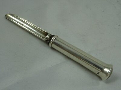 RARE, GEORGE IV solid silver APPLE CORER, 1829, 33gm