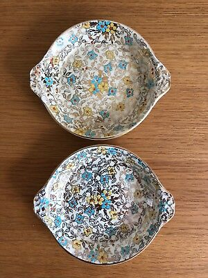Pair of Art  Deco Royal Winton Grimwades Pin Dishes or Trinket