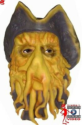 Maschera Davy Jones in lattice ADULTO