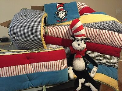 Pottery Barn Dr. Seuss Crib Bedding