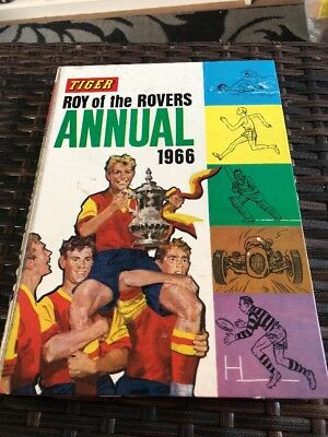 Roy Of The Rovers Annual 1966