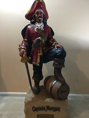 Captain Morgan 4ft Statue, Display, Decor,