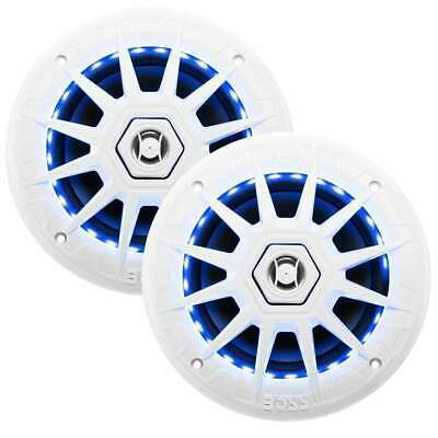 "Boss Audio 6-1/2"" Speakers with LED Lights 200 Watts W #MRGB65"