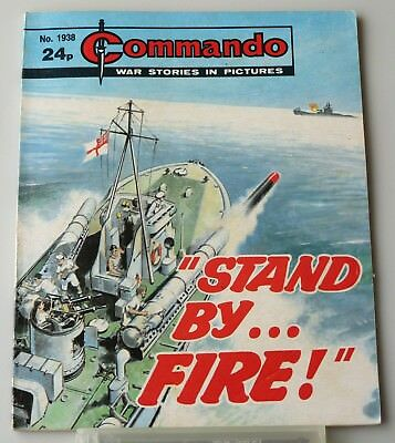 Commando #1938 Stand By Fire 1985