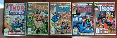 Marvel Comics Mighty Thor #402 419 420 422 423 Comic Book Lot