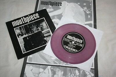 "Mouthpiece7""ltd400,1st Press,SXE,NYHC,PUNK,HC,NEW AGE RECORDS,SST,YOUTH OF TODAY"