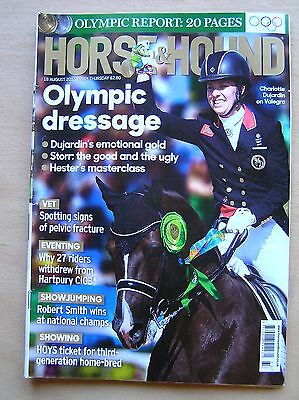 Horse & Hound 18 August 2016 Inc Rio Olympics Sophie Wells Piggy French Aghaderg