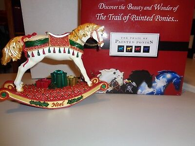 The Trail Of Painted Ponies Noel12306 Original Box