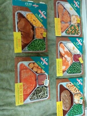 Vintage Swanson Dinner Labels advertising Circa 1970s