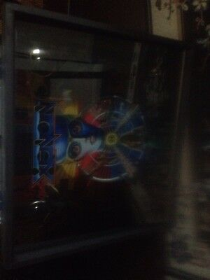 Bally Pinball  Machine Backglass  Plus Infinity Lights Assembly Xenon.