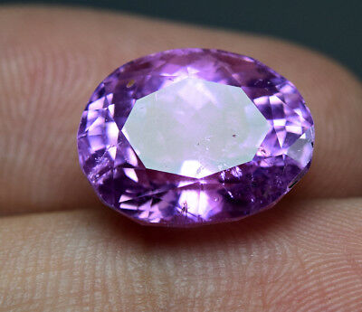 9.70 CRT Wow Fluorescent Pink color Kunzite mineral Pear cut gemstone from @AFG