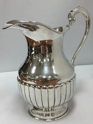 Solid STERLING SILVER Water Pitcher Large HEAVY
