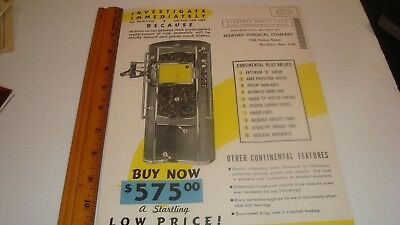 Vintage/Antique Medical Advertising  Bedford Surgical Co. X-Ray Machine 1942