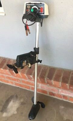 Vintage GAMEFISHER 217 12 Volt Electric Trolling Motor Fishing FWD REV Light EUC