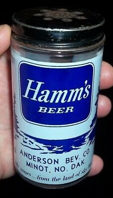 1950's hamms beer shaker anderson beverage minot north dakota
