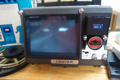 LENTAR Dual 8mm Film Editor and Viewer