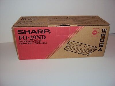 NEW-Sharp Black Fax Toner Cartridge FO-29ND