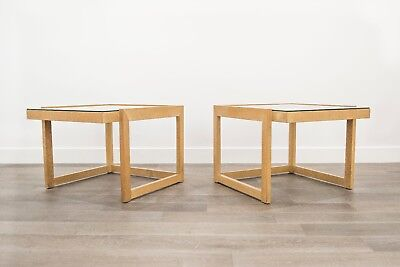Pair of Mid Century Cocktail Tables by Paul Laszlo for Brown Saltman
