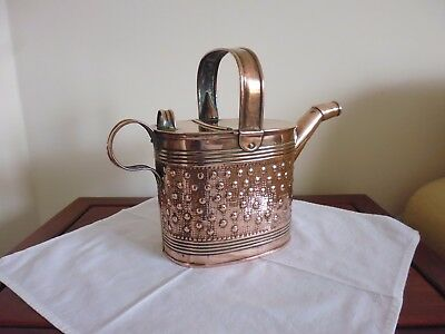 Rare Arts & Crafts Decorated Copper Watering Can - Perry & Son, Wolverhampton