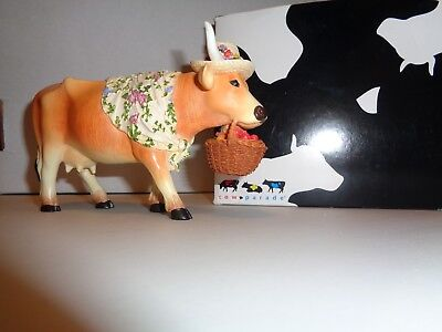Cow Parade  Madame Lavache Goes To Market 7757 Original Box