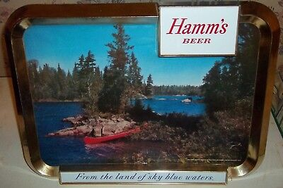 1950's hamms beer sign counter display