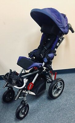 Convaid Cruiser 10 Special Needs Stroller 75lbs Weight Capacity.