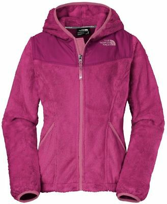 NWT GIRLS THE NORTH FACE CABARET PINK LOGOWEAR PULLOVER HOODIE JACKET S M L XL