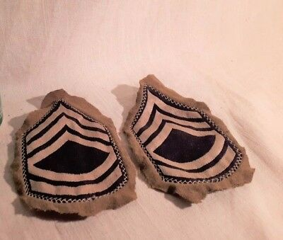 WWII US Army Technical Sergeant Enlisted Rank Patches