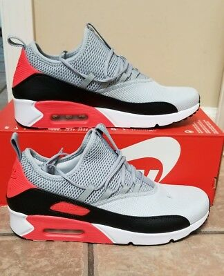 c96d195d7 Nike Air Max 90 EZ Slip On Pure Platinum Wolf Grey Black Infrared  AO1745-002 Clothing, ...