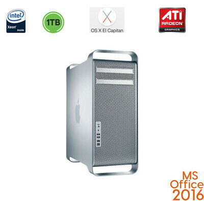 Apple Mac Pro 8 Core Xeon 64GB RAM ATI  WIFI BLUETOOTH MAC OS El Capitan