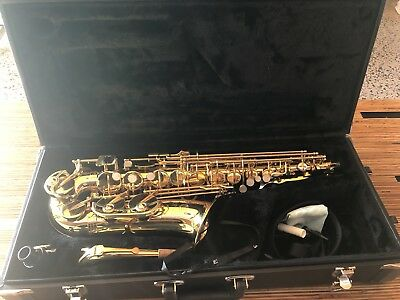 Jupiter JS567GL Student Alto Sax - sadly not really used very much at all