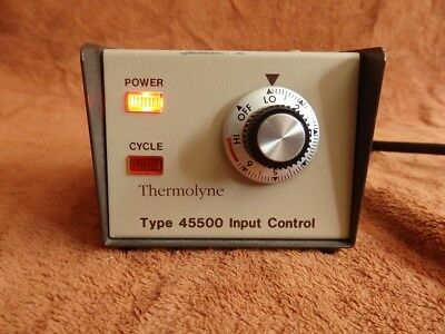 TWO (2) Thermolyne 4550 120v AC Temperature Control (Analog) 15 AMPS